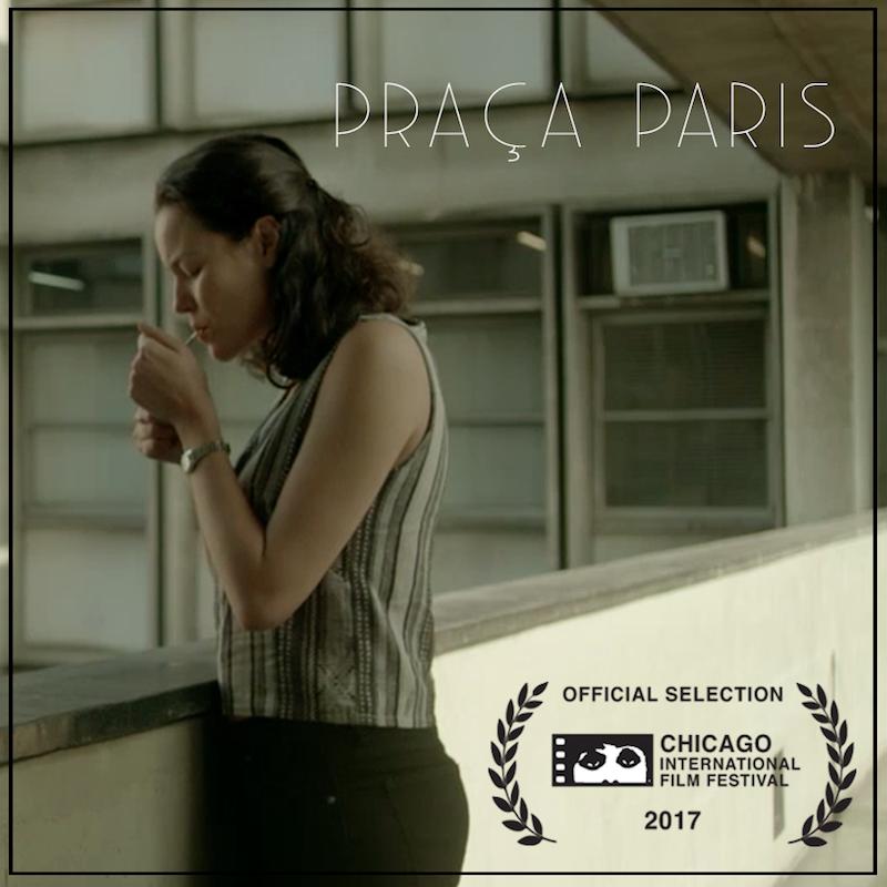 Joana de Verona em Praça Paris, um filme de Lucia Murat