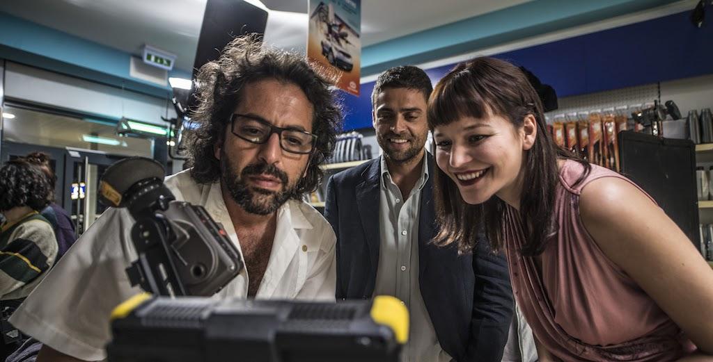 Joana de Verona com Diogo Amaral e António Ferreira | Fotografia ©Carlos Barradas/Pedro e Inês Filme