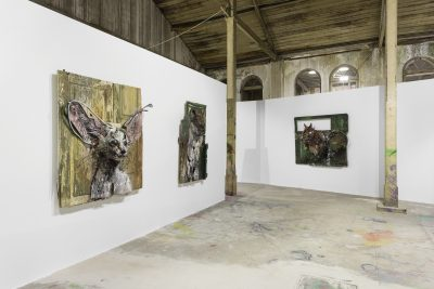 Exposição ATTERO, em Lisboa ©Bordalo II