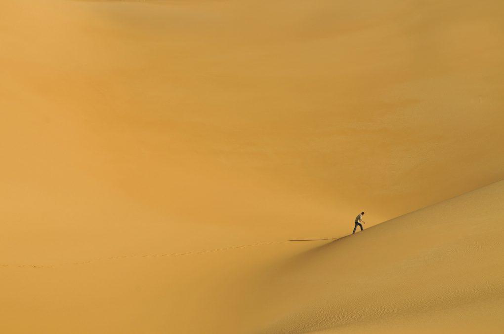 Dunas de Ubari, Deserto Sahara, Líbia ©Alma de Viajante