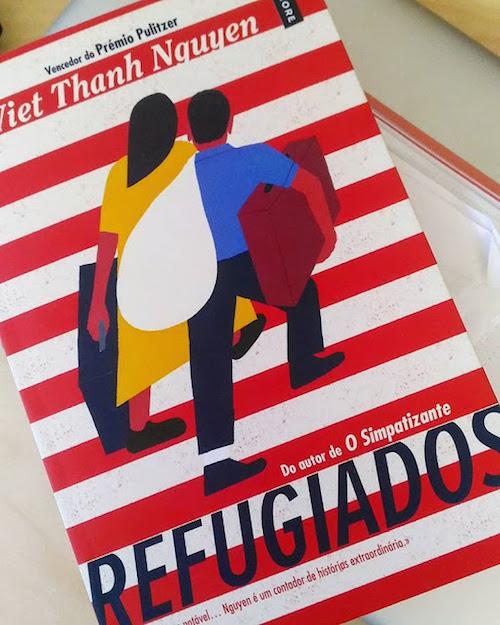 Capa do Livro Refugiados, de Viet Thanh Nguyen