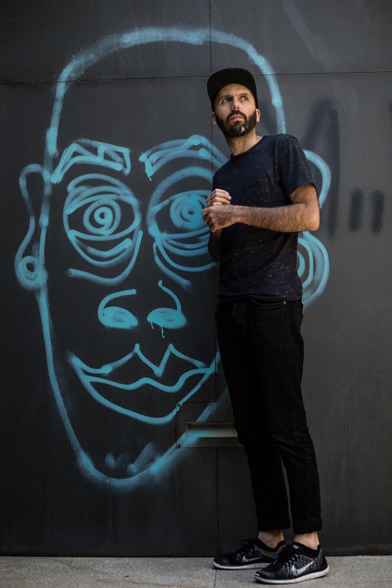 Victor Hugo Pontes fotografado no Centro Cultural Vila Flor ©Nuno Sampaio