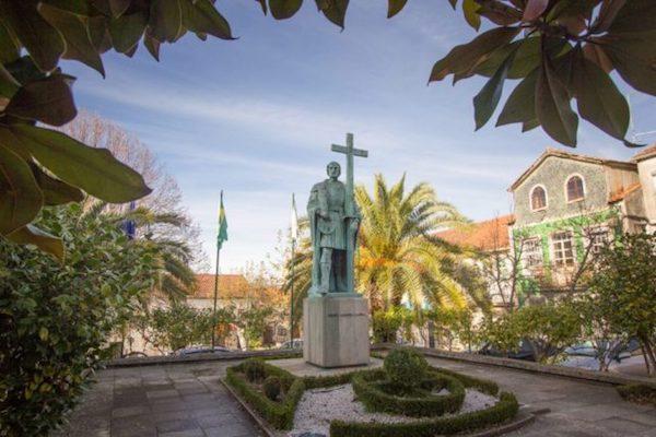 Estátua de Pedro Álvares Cabral ©D.R.