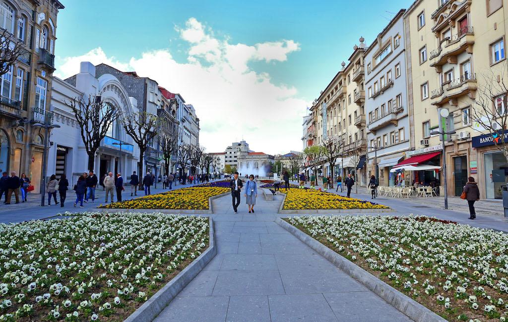 Avenida Central, em Braga ©D.R.