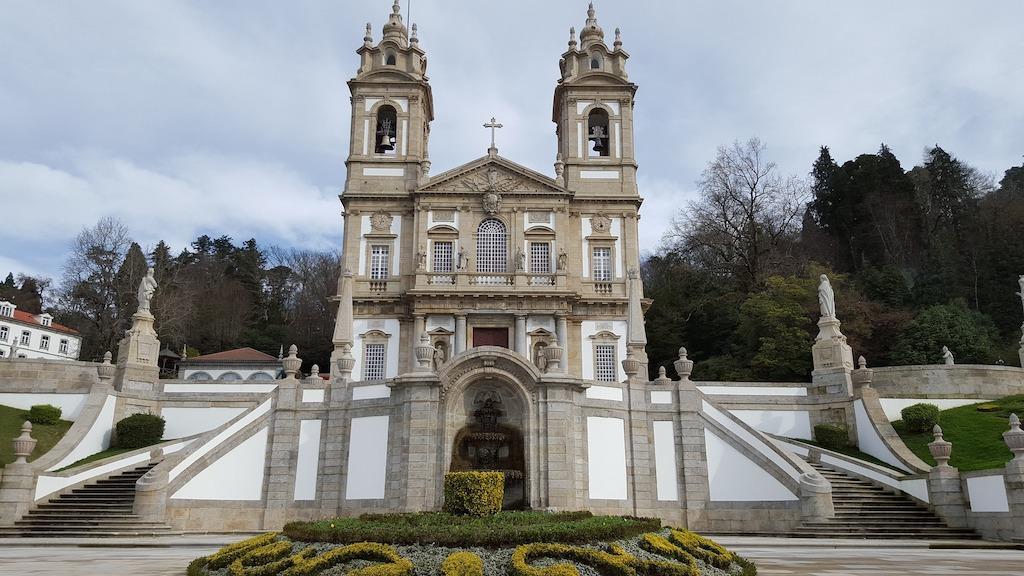 Santuário do Bom Jesus, considerado Património Mundial da UNESCO em 2019