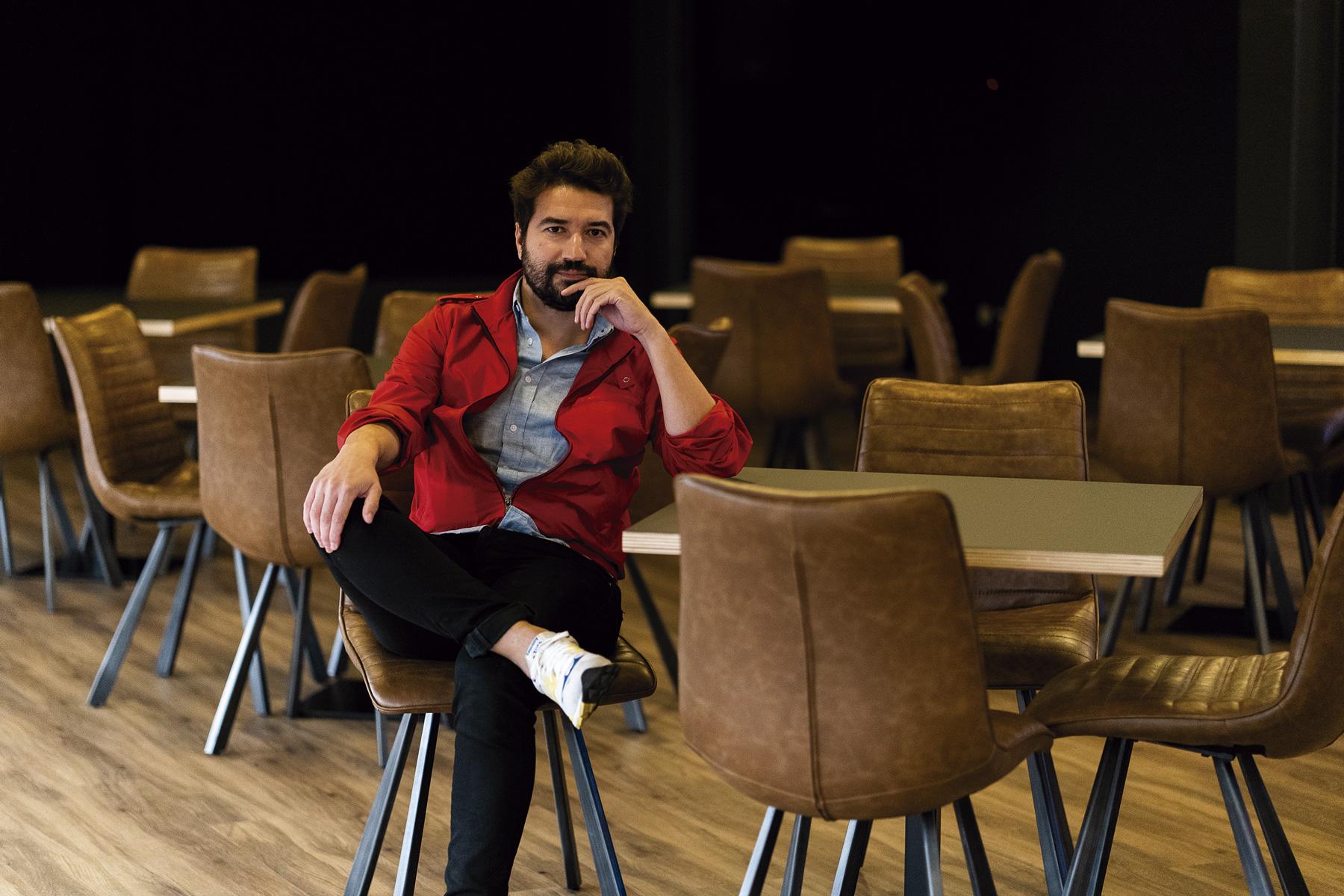 Miguel de Oliveira, um dos criadores da Revolve | Fotografia ©Nuno Sampaio