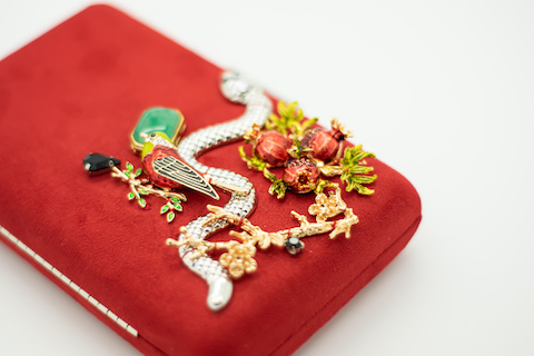Clutch Red Snake 115€
