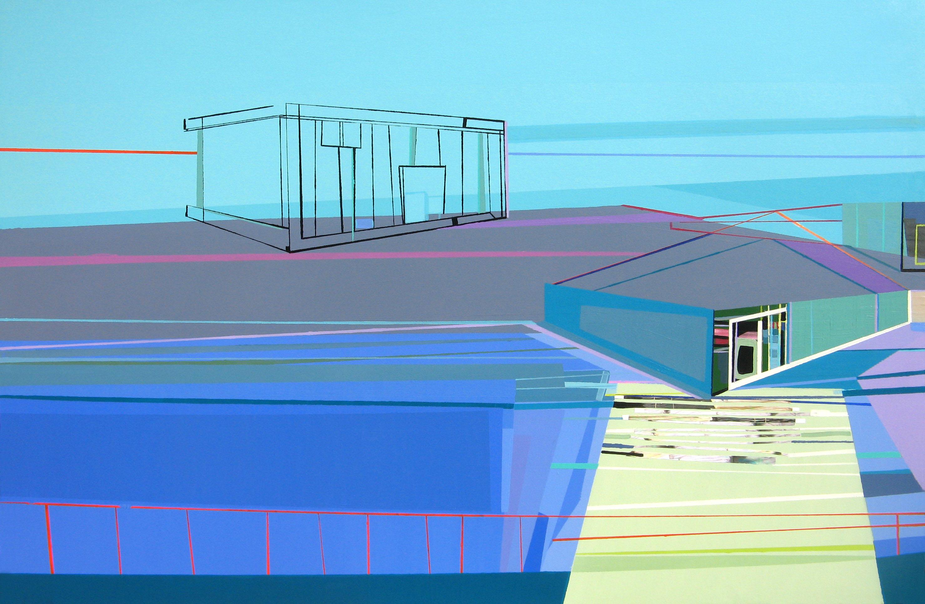 Desired Shelter #15 100x150cm 2012