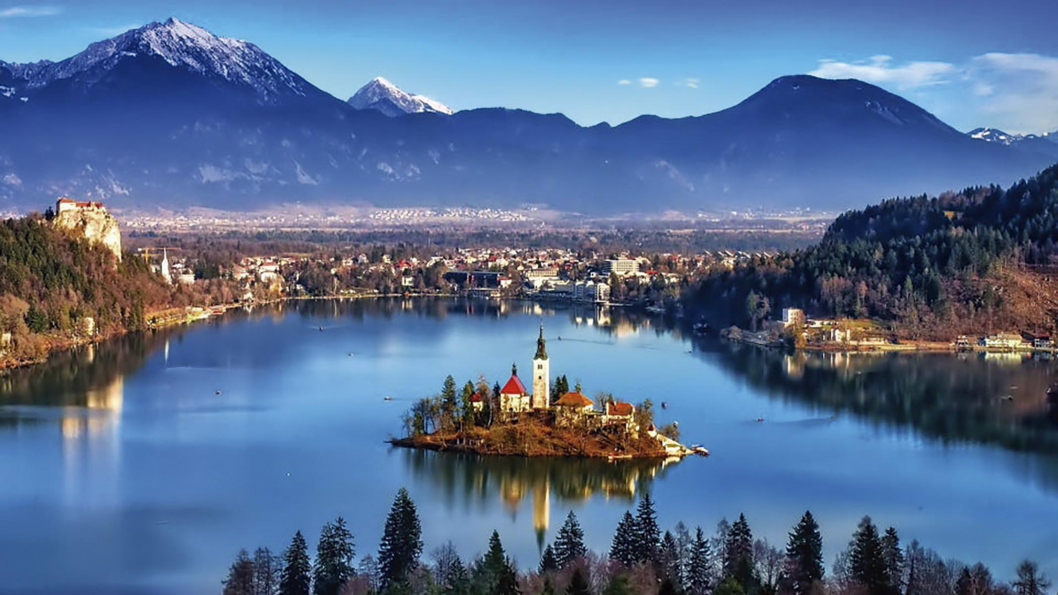 Lake Bled, Eslovénia ©D.R.