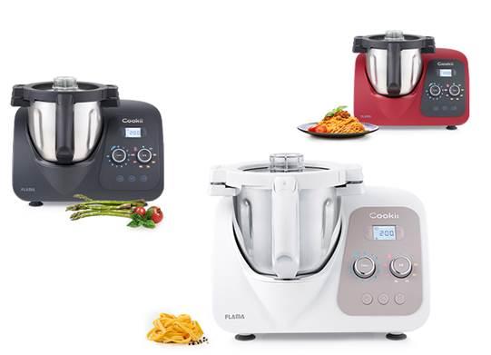 A Flama apresentou uma das grandes novidades do ano, a nova máquina de cozinha versátil e funcional Cookii 2.