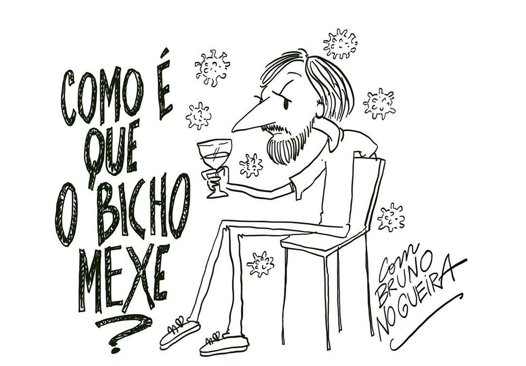 Como é que o Bicho Mexe, desenho de Nuno Markl