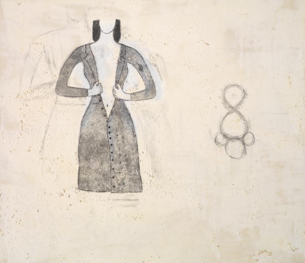 Julião Sarmento, Dias de escuro e de luz - II (jarro), 1990 (detalhe). Col. Fundação de Serralves – Museu de Arte Contemporânea, Porto. Aquisição em 1991.