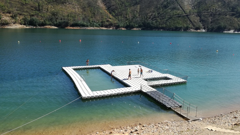 Praia Fluvial do Lago Azul ©D.R.