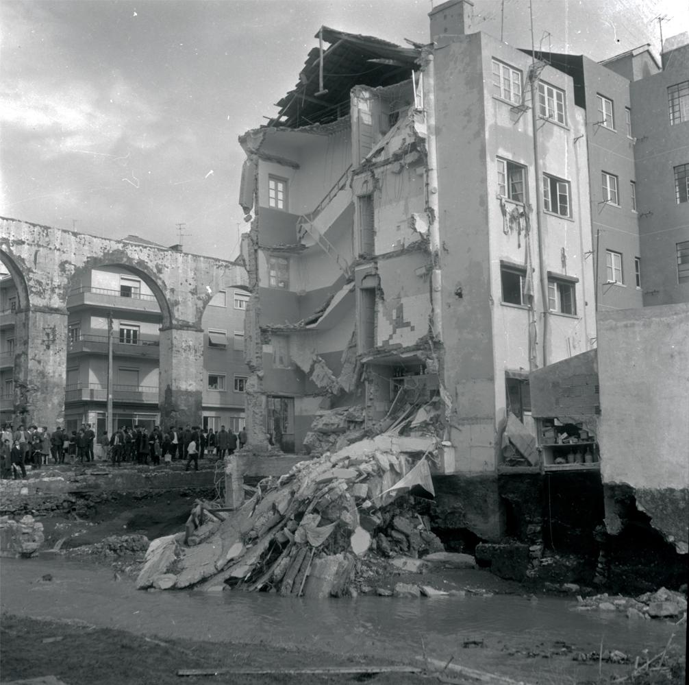 Queluz, Cheias 67 - Imagem Arquivo