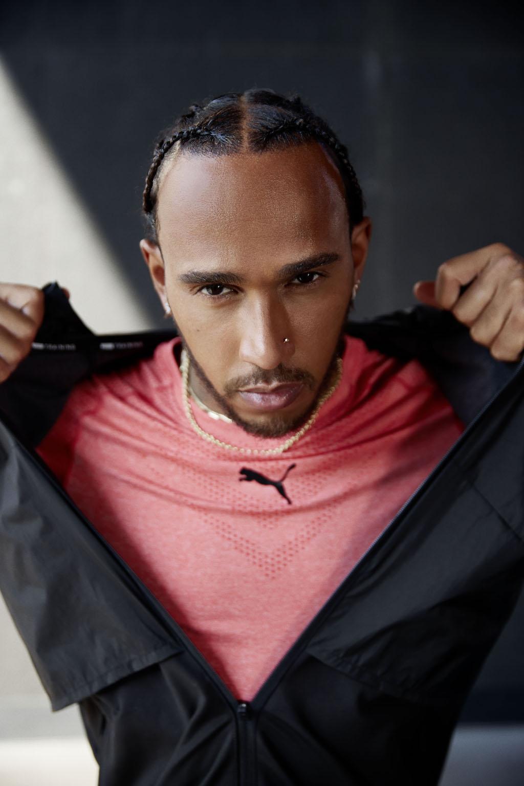 Lewis Hamilton ©PUMA