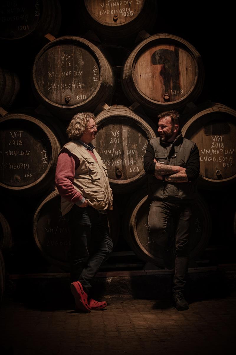 O produtor Dirk Niepoort e o chef Ljubomir Stanisic ©D.R.